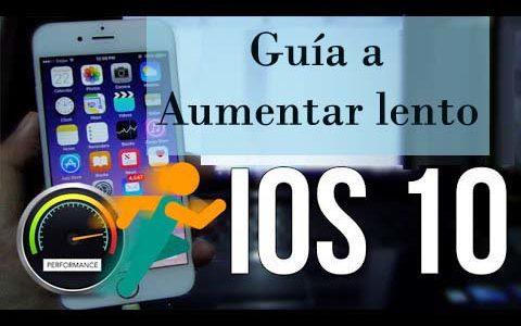 Parte superior 10 Métodos gratuitos para acelerar iOS 10 lento, iOS 10.1 en iPhone iPad