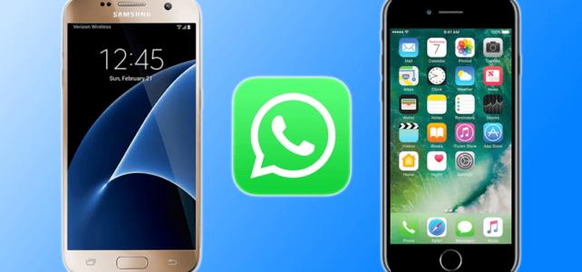Cómo transferir Mensajes de WhatsApp de Android a iPhone 6