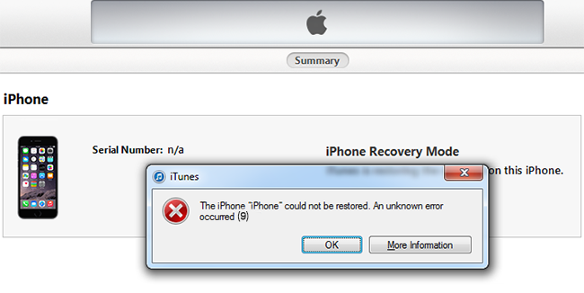 how to fix no modem firmware on iphone 5s