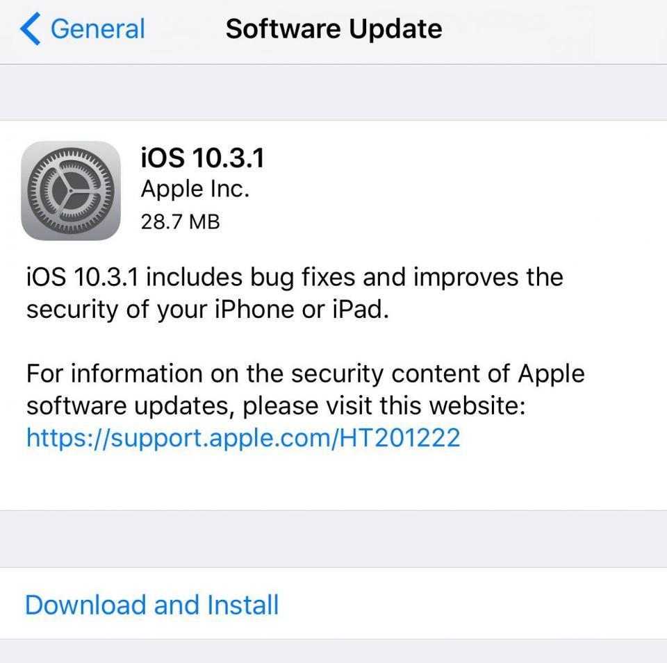 iOS-10.3.1