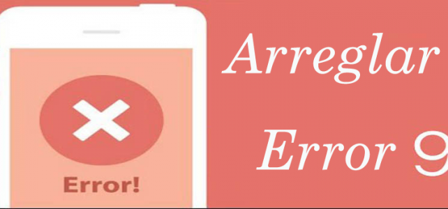 "Posibles maneras de arreglar ""iTunes Error 9"" en iPhone / iPad"