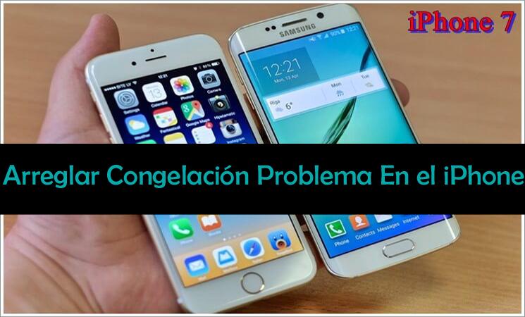 resolver el problema de congelación de iPhone
