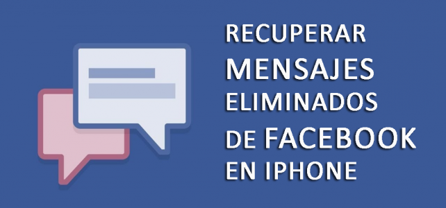 Cómo recuperar mensajes eliminados de Facebook Messenger en iPhone en Windows / Mac