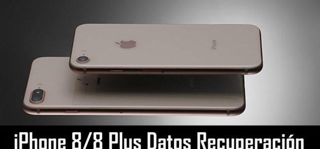 Cómo recuperar datos perdidos o eliminados del iPhone 8/8 Plus