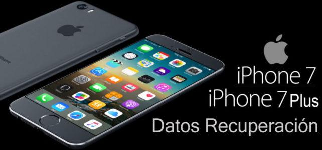 3 formas de recuperar datos perdidos o eliminados de iPhone 7/7 Plus
