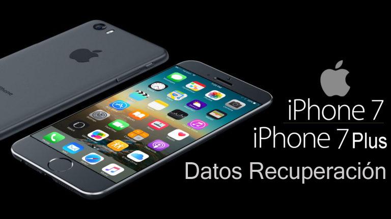 como recuperar archivos borrados del iphone 7