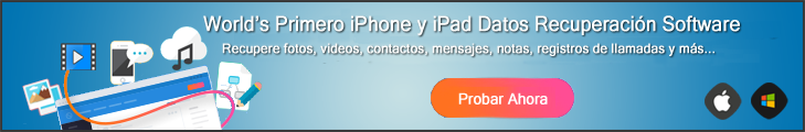 Tratar de iOS Recuperación de Datos Ahora
