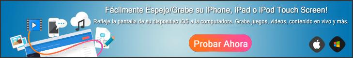 Tratar de iOS Grabador de Pantalla Ahora