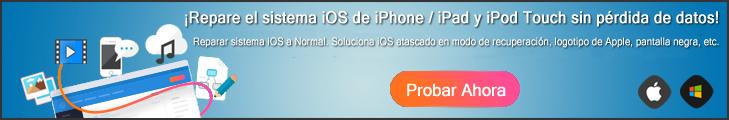 Tratar de iOS Reparación del Sistema Ahora