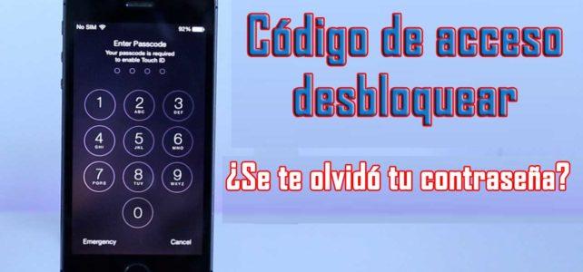 Cómo desbloquear el código de acceso de iPhone/iPad/iPod Touch sin restaurar