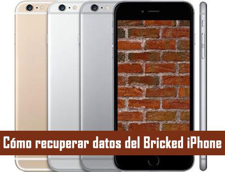 Cómo recuperar datos del Bricked iPhone